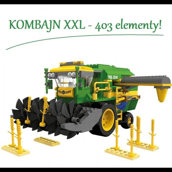 KOMBAJN Farma Gospodarstwo...