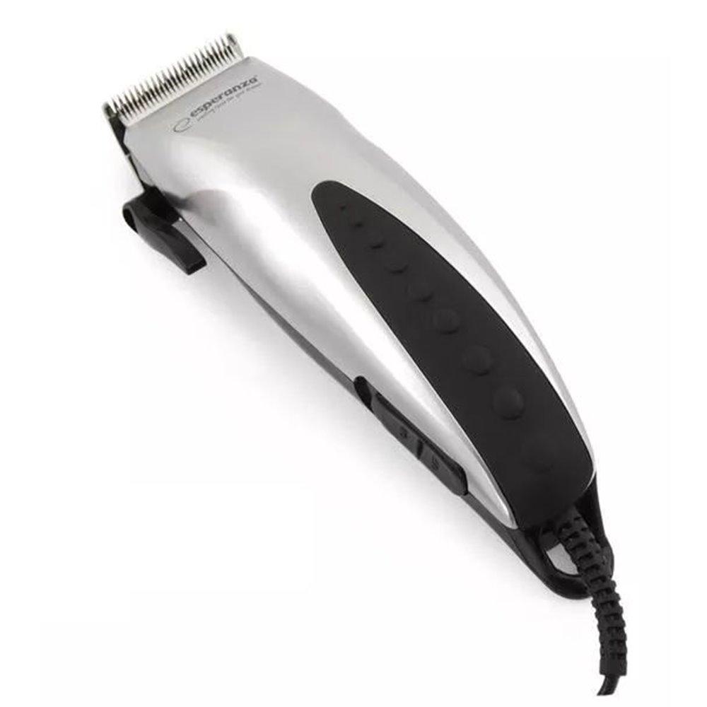 Poręczna Praktyczna Maszynka do Strzyżenia Włosów Esperanza EBC003 630